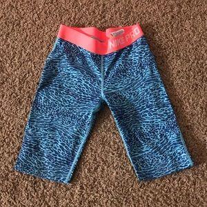 Nike Pro Girls leggings.